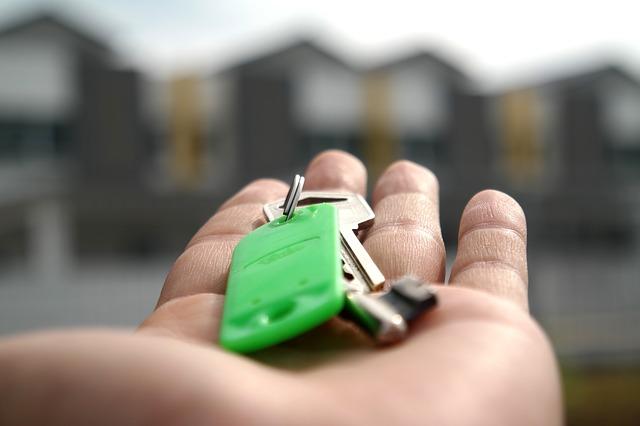 klíč na dlani