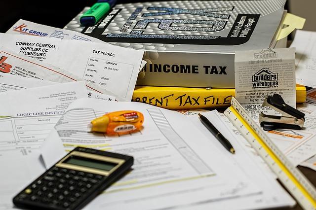 výpočet daní