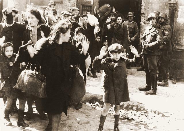 útok vojáků na ženy s dětmi